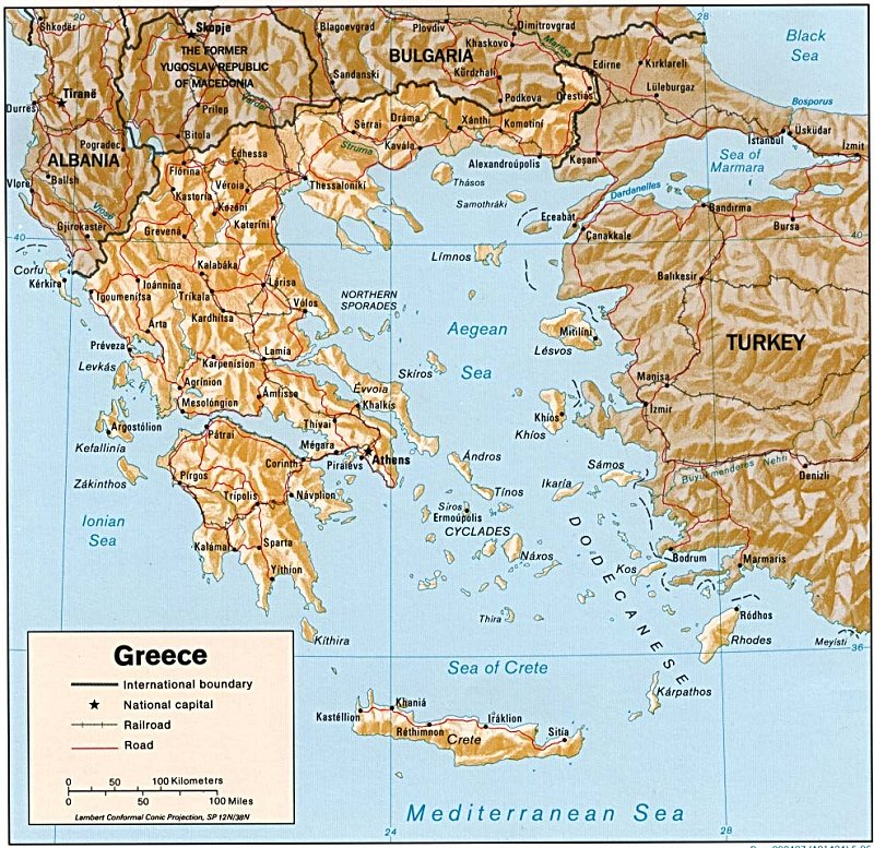Greece, part 2 @ God's Geography